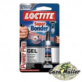 Cola Super Bonder Power Flex Gel 2G