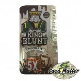 Papel Seda King Blunt Chocolate - Contém 5 sedas