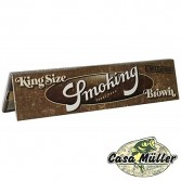 Papel Seda Smoking Brown King Size